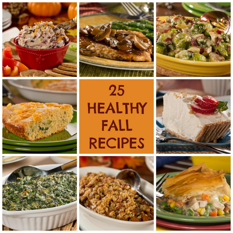 25 Healthy Fall Recipes | EverydayDiabeticRecipes