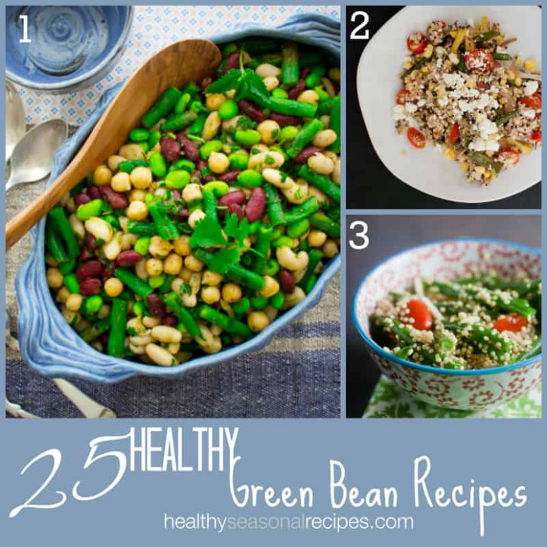 25 healthy green bean recipes - Healthy Seasonal Recipes