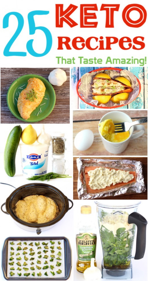 26 Easy Keto Recipes! Quick and Delicious Ideas - The ...