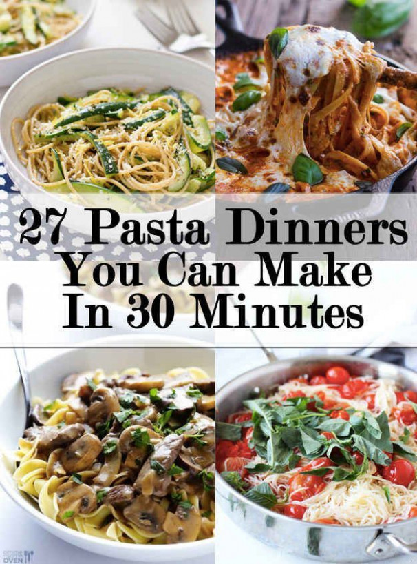 27 Delicious Ideas For Weeknight Pasta Dinners | Food …