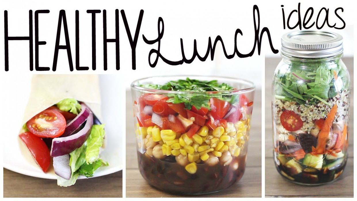 3 Healthy & Easy Lunch Recipes (Vegan & Gluten Free ...