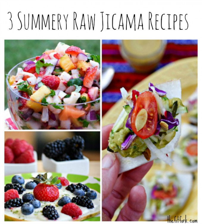 3 No-Cook Summer Jicama Recipes + More Yum | thefitfork