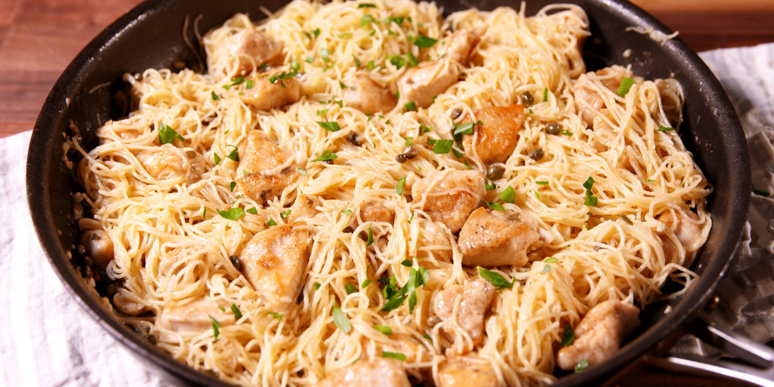 30+ Easy Chicken Pasta Recipes - Light Pasta Dishes with ...