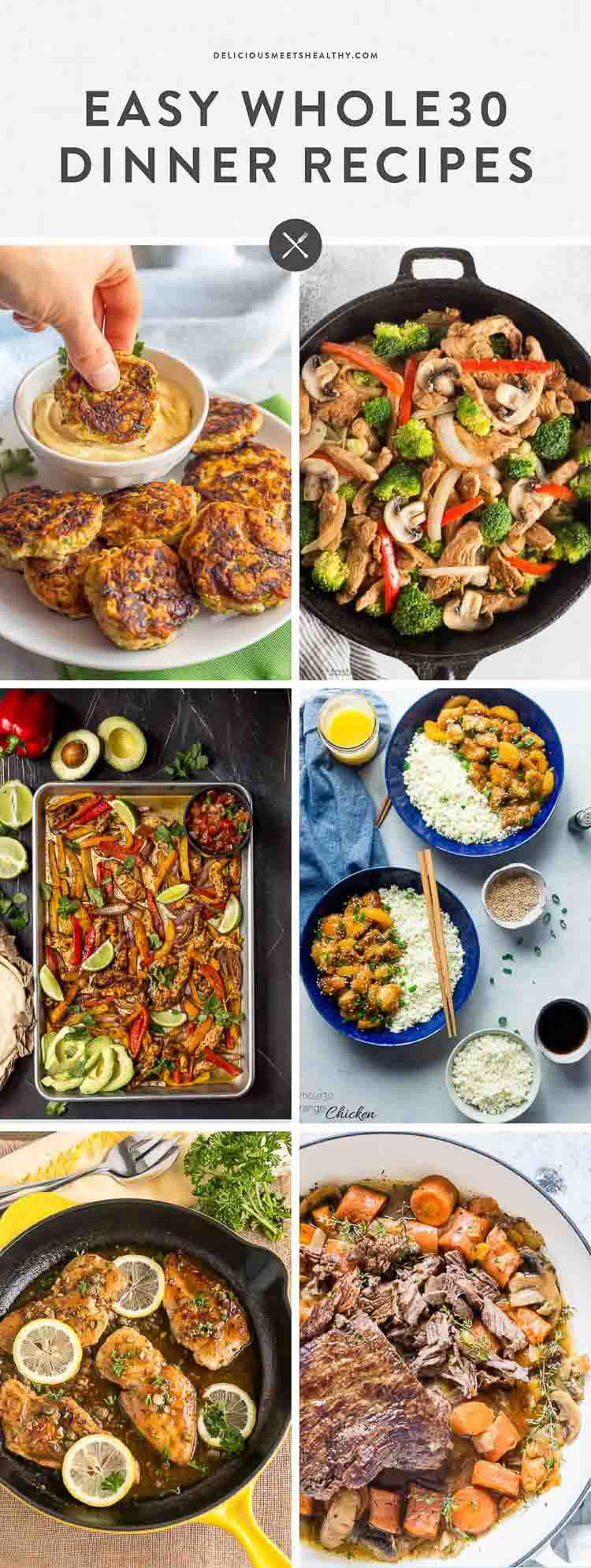30 Easy Whole30 Dinner Recipes | Delicious Meets Healthy