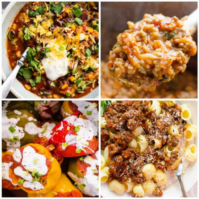 30 Healthy Easy Instant Pot Recipes - iFOODreal - Healthy ...