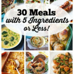 30 Meals With 5 Ingredients Or Less | PINS I LOVE | Dinner …