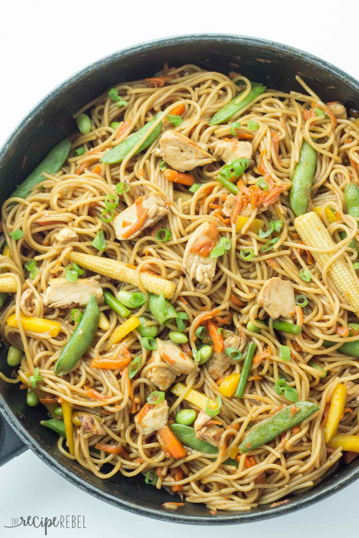 30 Minute Thursday: One Pot Chicken Chow Mein - The Recipe ...