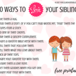 30 Ways To Help Siblings Get Along – Feels Like Home™