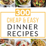 300 Cheap And Easy Dinner Recipes – Prudent Penny Pincher