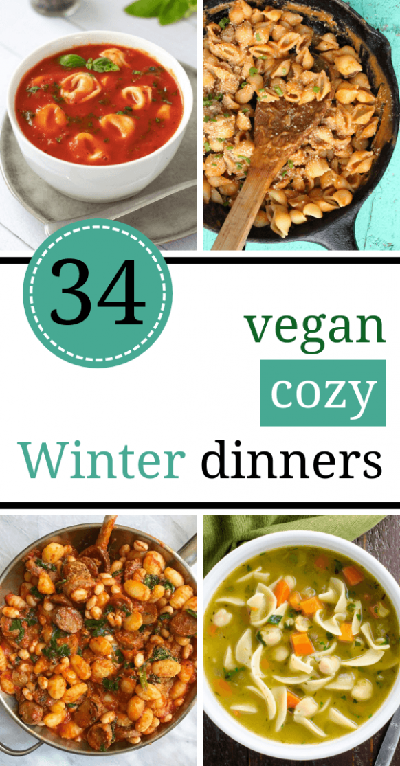 34 Cozy Vegan Winter Recipes for Dinner (Healthy Comfort ...