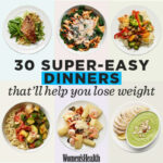 36 Super Easy Healthy Dinners That'll Help You Lose Weight