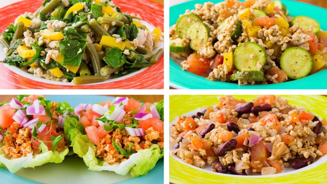 4 Ground Turkey Recipes For Weight Loss | Healthy Recipes ...