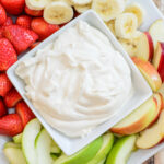 4 Ingredient Healthy Yogurt Fruit Dip – Almost Supermom
