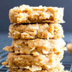 4 Ingredient No Bake Peanut Butter Coconut Oatmeal Cookies ...