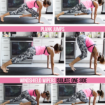 4 Minute Plank Tabata Challenge (Day 1): High Plank …