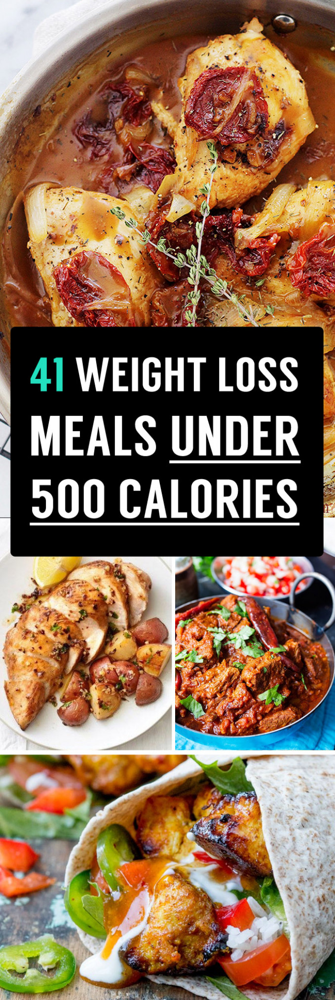 41 Weight Loss Meals Under 500 Calories That You Need To ...
