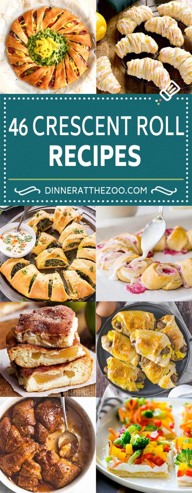 46 Crescent Roll Recipes - Dinner at the Zoo