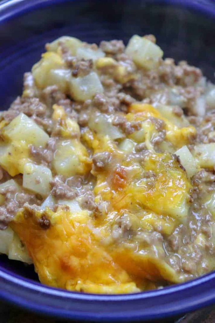 5-Ingredient Ground Beef Casserole - Back To My Southern Roots