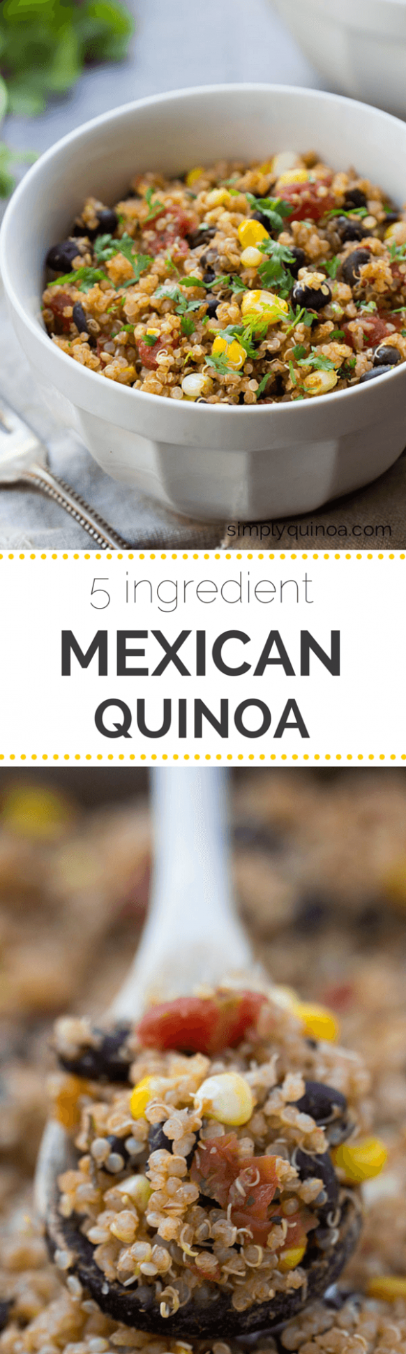 5-ingredient Mexican Quinoa - Simply Quinoa