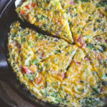 5 Ingredient Vegetable Frittata - Sweetphi
