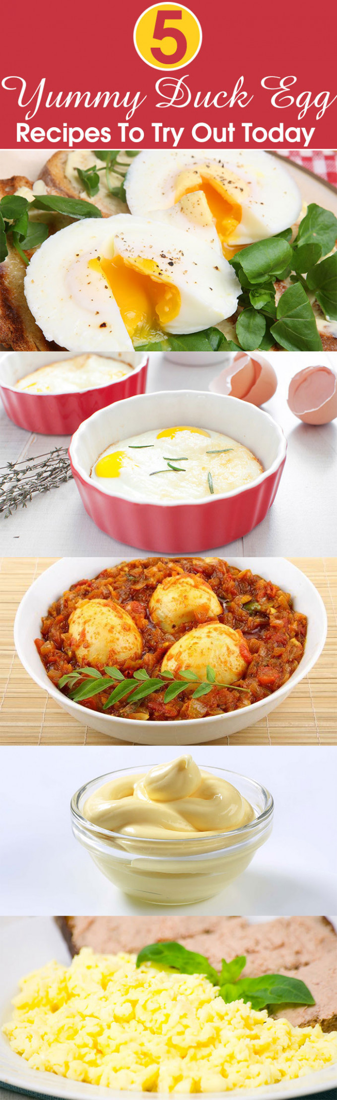 5 Yummy Duck Egg Recipes To Try Out Today | Dinner for 2 ...