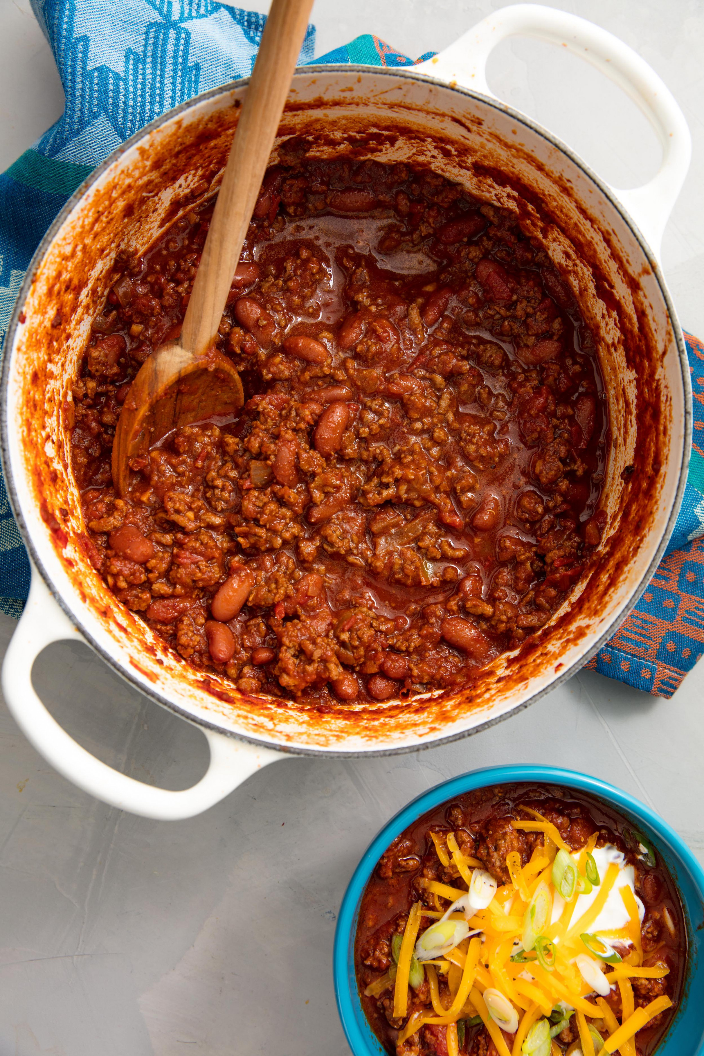 50+ Easy Chili Recipes - Homemade Chili from Scratch ...