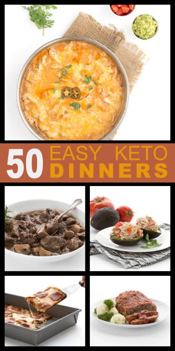 50 Easy Keto Dinner Recipes | All Day I Dream About Food