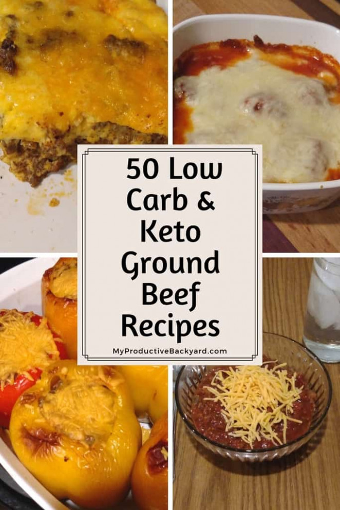 50 Low Carb Keto Ground Beef Recipes - My Productive Backyard