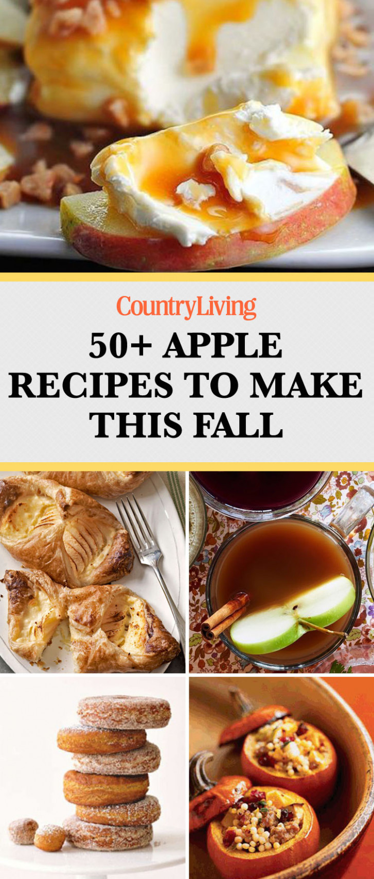 55+ Easy Apple Recipes - What to Do With Apples