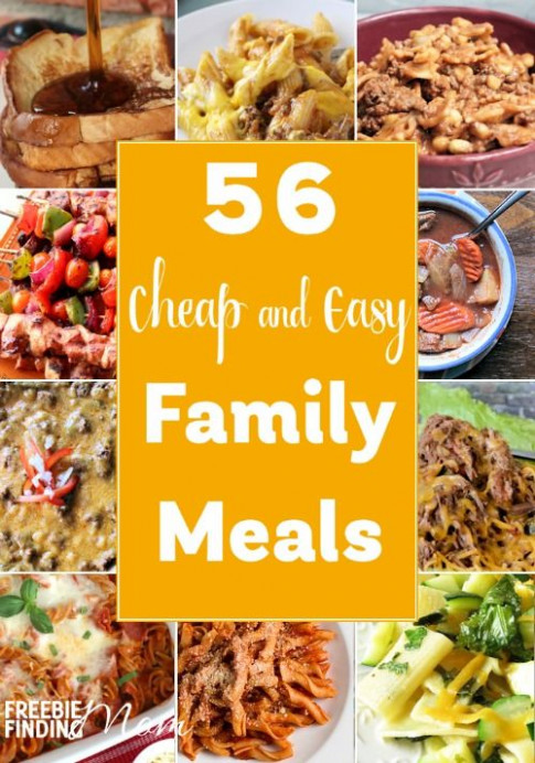 56 Cheap and Easy Family Meals | menu planning | Quinoa ...