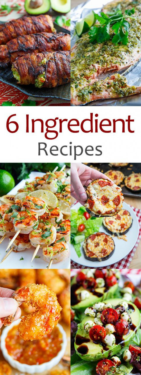 6 Ingredient Recipes (Closet Cooking) | Recipes to Try ...
