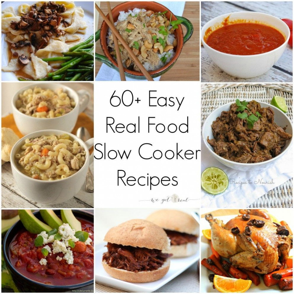 60 easy and healthy slow cooker recipes | Recipes for slow ...