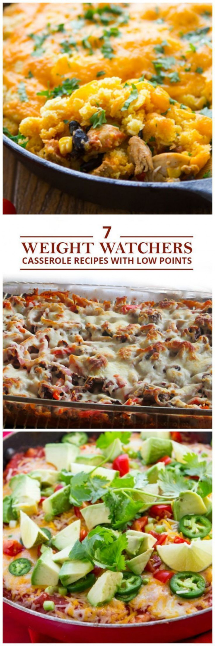7 Weight Watchers Casserole Recipes with Low Points