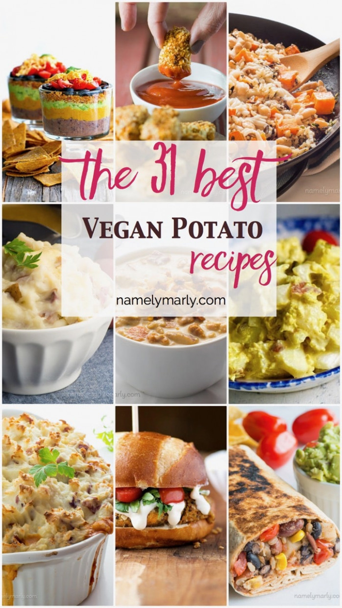 8 Best Vegan Recipes with Potatoes - Namely Marly