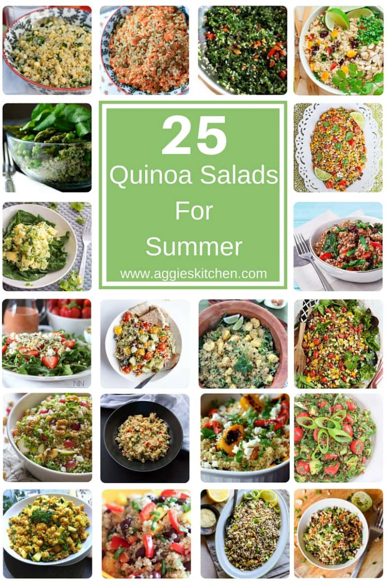 8 Healthy Quinoa Salads For Summer - Aggie's Kitchen