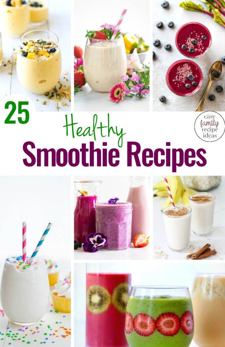 8 Healthy Smoothie Recipes Everyone Will Want To Drink …