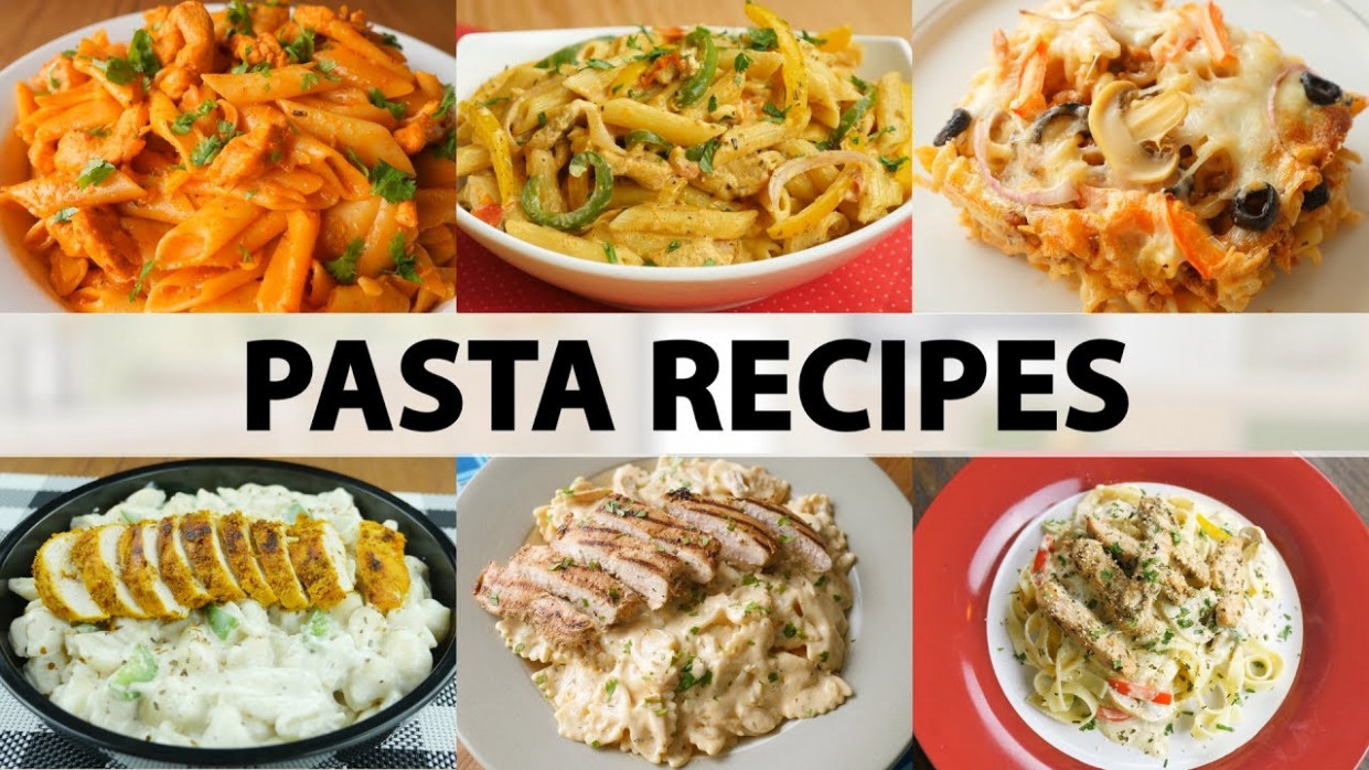 8 Must Try Pasta Recipes By Food Fusion – video
