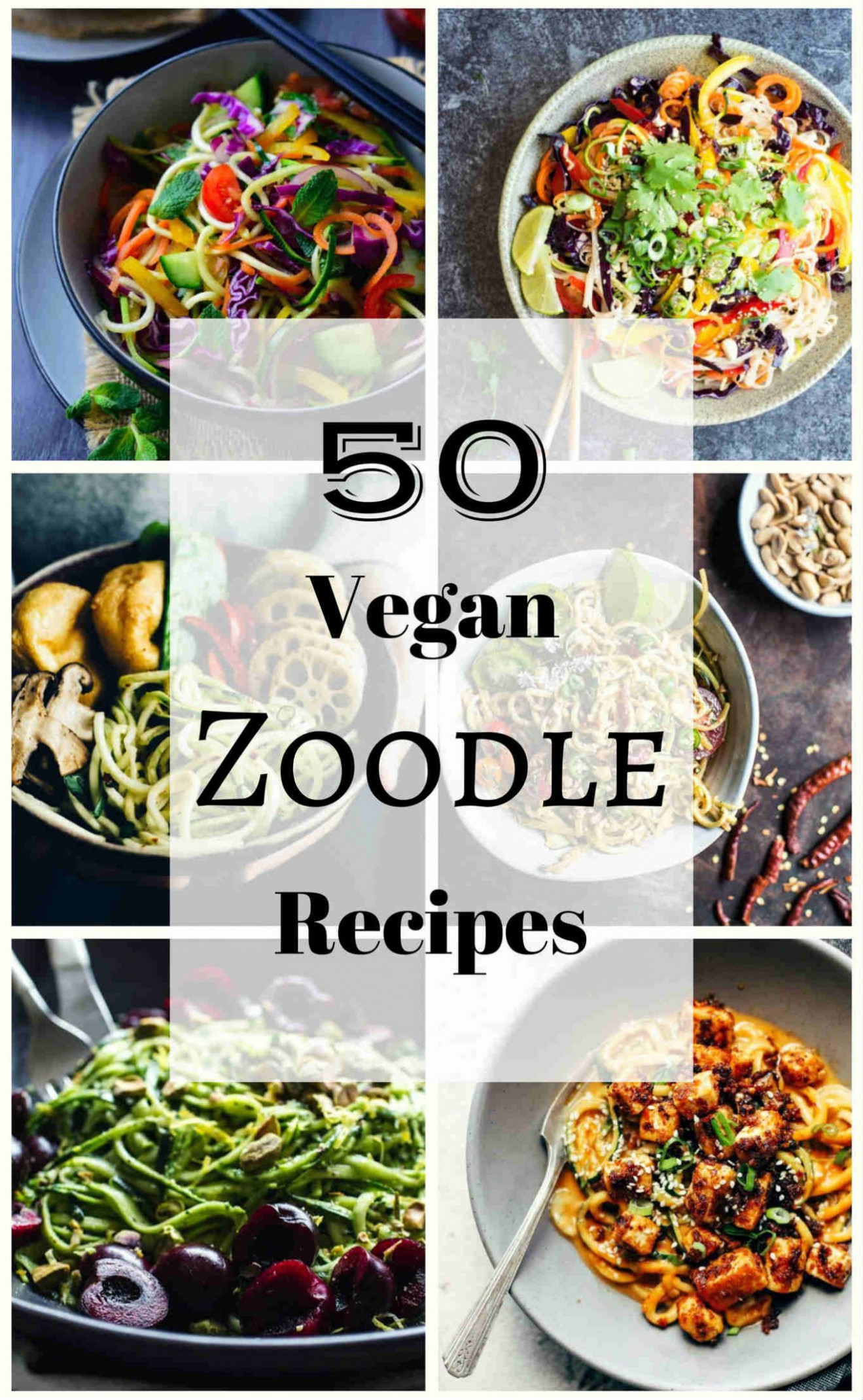 8 Vegan Zoodle (Zucchini Pasta) Recipes | The Stingy Vegan