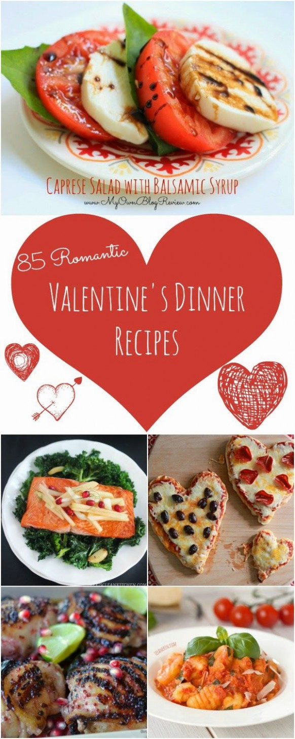 85 Recipes For A Romantic Valentine's Day Dinner At Home …