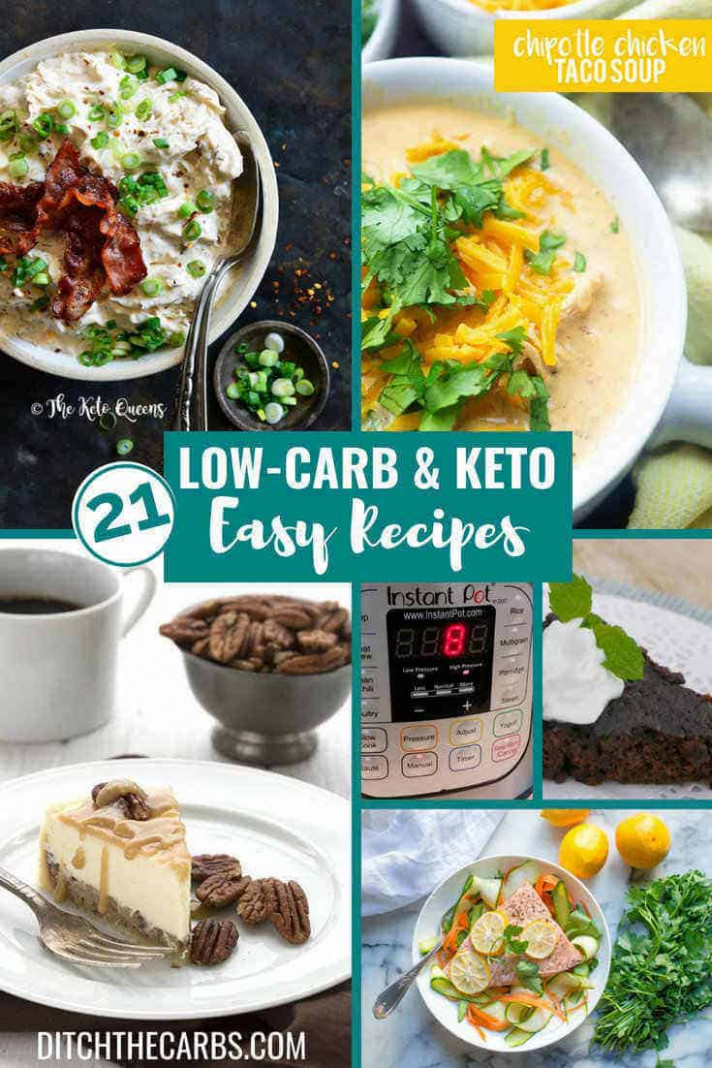 9 Best Low-Carb Keto Instant Pot Recipes — sweet AND savoury!!!