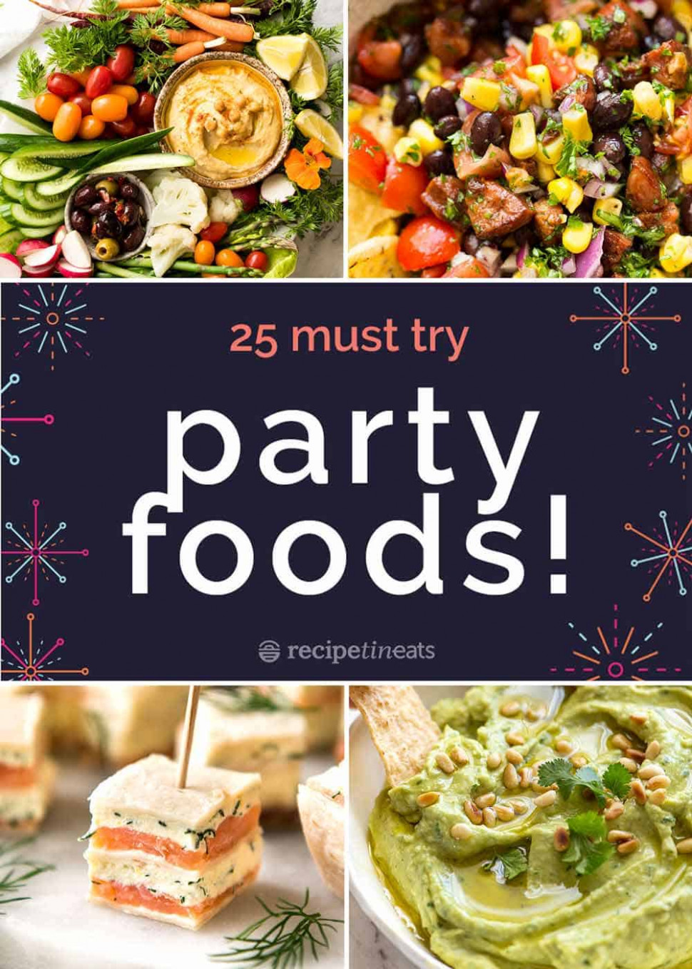 9 BEST Party Food Recipes!