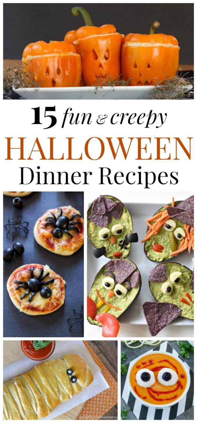 9 Fun and Creepy Halloween Dinner Recipes