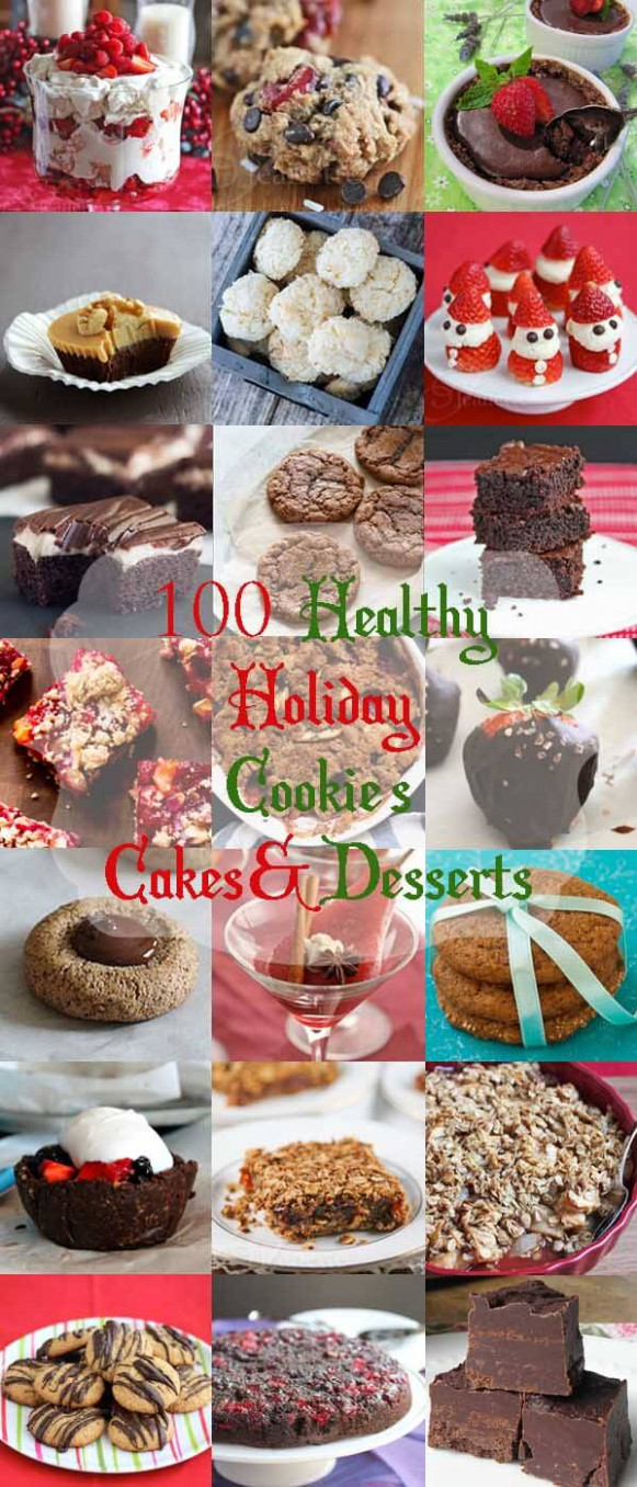 9+ Healthy Christmas and Holiday Dessert Recipes ...
