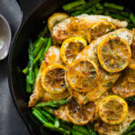 9 Ingredient Lemon Chicken With Asparagus Recipe – Pinch Of Yum