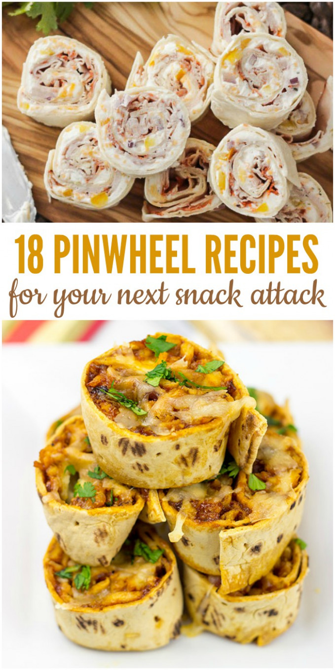 9 Pinwheel Recipes for Your Next Snack Attack