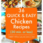 9 Quick And Easy Chicken Recipes  All 9 Minutes Or Less