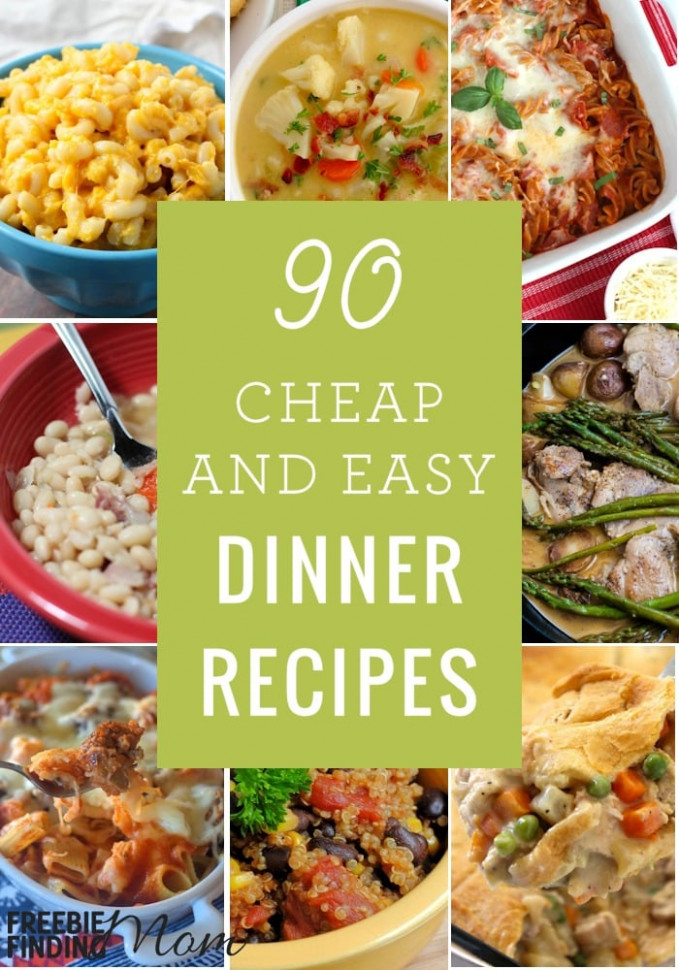 dinner-recipes-easy-and-cheap