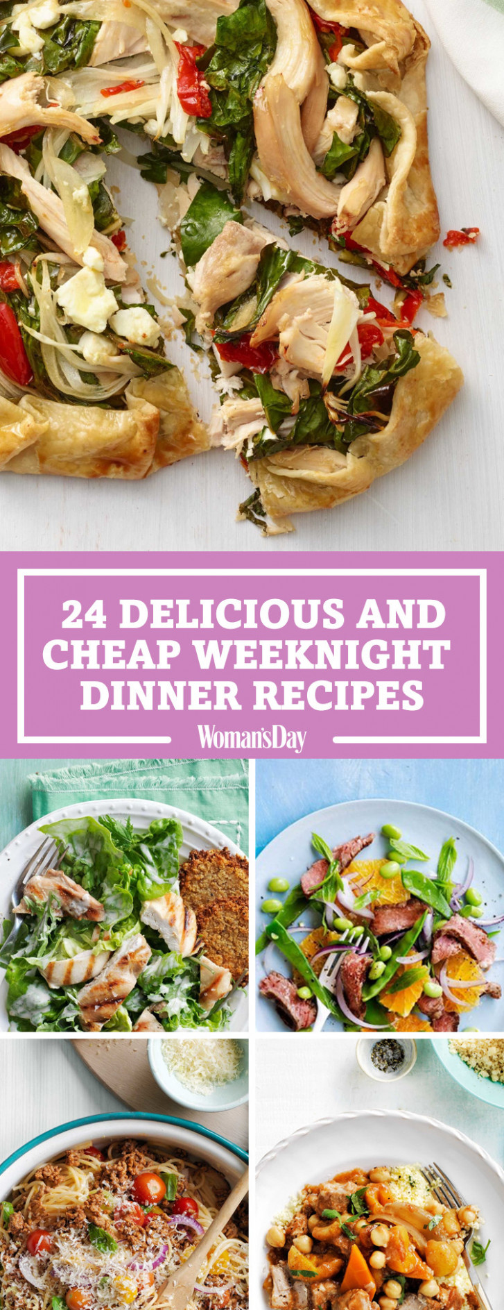 95+ Cheap Dinner Ideas – Easy Recipes for Inexpensive Meals
