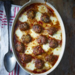 A delicious Beef And Mozzarella Gratin