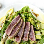 A Healthy Green Salad With Seared Tuna Recipe Approved For …